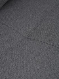 Schlafsessel Edward in Dunkelgrau mit Metall-Füssen, ausklappbar, Bezug: 100% Polyester 40.000 Sch, Webstoff Dunkelgrau, B 96 x T 98 cm