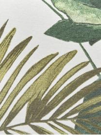 Wodoodporna nakładka na ławkę Bliss, Tapicerka: 50% bawełna, 45% polieste, Kremowy, odcienie zielonego i odcienie niebieskiego, S 48 x D 120 cm