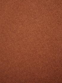 Divano componibile 4 posti in tessuto color terracotta Lennon, Rivestimento: poliestere Il rivestiment, Struttura: legno massiccio di pino, , Piedini: materiale sintetico I pie, Tessuto colore terracotta, Larg. 326 x Prof. 119 cm