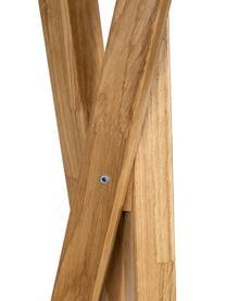 Appendiabiti in legno di quercia Clift, Legno di quercia, massiccio, Legno di quercia, Larg. 35 x Alt. 175 cm