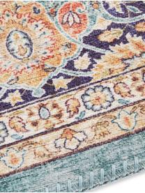 Teppich Keshan Maschad im Orient Style, 100% Polyester, Jadegrün, Mehrfarbig, B 200 x L 290 cm (Größe L)