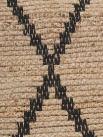 Handgefertigter Jute-Teppich Atta, 100% Jute, Beige, B 200 x L 300 cm (Größe L)