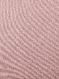 Poduszka z aksamitu Shell, Tapicerka: 100% aksamit poliestrowy, Brudny różowy, S 32 x D 27 cm
