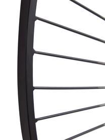 Kovová nástěnná dekorace Anush, Konstrukce: černý lakovaný dub Nohy: zlatá