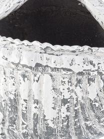 Portavaso Shell, Minerale, Grigio, bianco, Larg. 68 x Alt. 35 cm