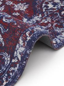 Dywan w stylu vintage Elegant, Czerwony, niebieski, S 120 x D 180 cm (Rozmiar S)