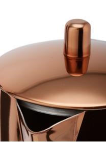 Espressokocher Molly, Unterer Teil: Edelstahl, poliert, Kupfer, Edelstahl, 600 ml