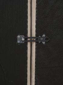 Szezlong modułowy ze sztruksu Lennon, Tapicerka: sztruks (92% poliester, 8, Stelaż: lite drewno sosnowe, skle, Nogi: tworzywo sztuczne Nogi zn, Sztruksowy beżowy, S 269 x G 119 cm