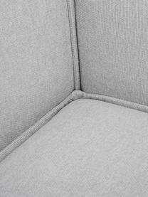 Modulaire bank Lennon (3-zits), Bekleding: polyester, Frame: massief grenenhout, multi, Poten: kunststof, Lichtgrijs, B 238 x D 119 cm