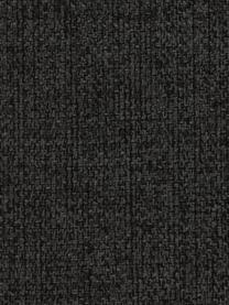 Divano angolare 3 posti in tessuto antracite Cucita, Rivestimento: tessuto (poliestere) 45.0, Struttura: legno di pino massiccio, Piedini: metallo laccato, Tessuto antracite, Larg. 262 x Prof. 163 cm