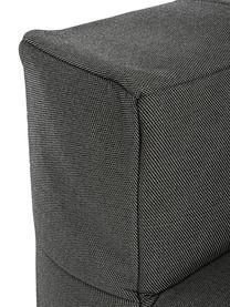 Fotel wypoczynkowy Sparrow, Stelaż: aluminium, Tapicerka: olefin (100% polipropylen, Antracytowy, S 90 x G 87 cm