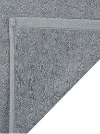 Einfarbiges Handtuch-Set Comfort, 3-tlg., Dunkelgrau, Sondergrößen