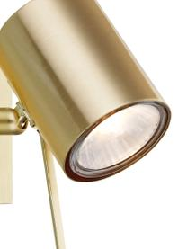 Wandspot Hyssna met stekker, Lampenkap: vermessingd metaal, Messingkleurig, 8 x 9 cm
