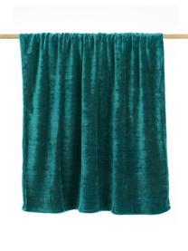 Kuscheldecke Doudou in Türkis, 100% Polyester, Türkis, 130 x 160 cm