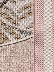 In- & Outdoor-Teppich Cleo mit elegantem Palmenblattmotiv, 90% Polypropylen, 10% Polyester, Schwarz, B 300 x L 400 cm (Größe XL)