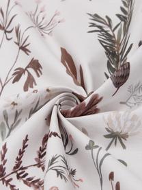 Designer Perkal-Bettwäsche Mushroom aus Bio-Baumwolle von Candice Gray , Webart: Perkal Fadendichte 180 TC, Mehrfarbig, 135 x 200 cm + 1 Kissen 80 x 80 cm