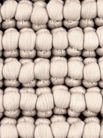 Kussenhoes Iona met kleine bolletjes in beige, Beige, 45 x 45 cm