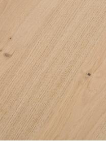 Credenza con finitura in quercia Finn, Superficie: impiallacciatura in legno, Legno di quercia, Larg. 217 x Alt. 85 cm
