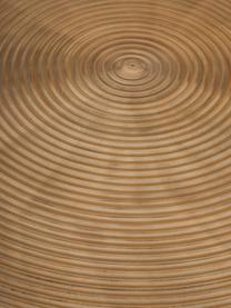 Table ronde dorée Hypnotising, Couleur laitonnée