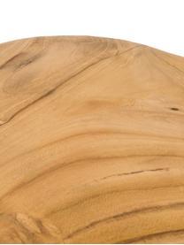 Deska do krojenia z drewna tekowego Pine, Drewno tekowe, Drewno tekowe, D 35 x S 23 cm