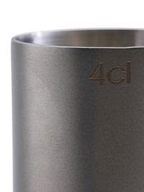 Messbecher Gunmetal in Anthrazit, matt, Edelstahl, beschichtet, Anthrazit, Ø 4 x H 9 cm