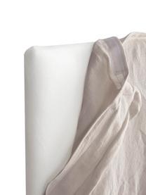 Leinen-Kopfteil Palma in Beige, Bezug: 100 % Leinen, Beige, 120 x 122 cm