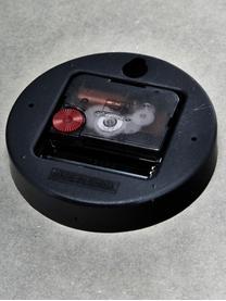 Orologio da parete Dura, Legno esotico, idrorepellente, Grigio, marrone, Ø 29 cm