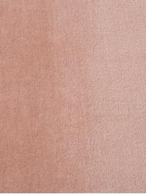 Banquette en velours Harper, Vieux rose, couleur dorée