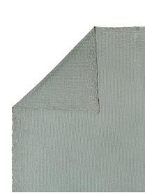 Tagesdecke Vigo mit strukturierter Oberfläche, 100% Baumwolle, Flaschengrün, B 220 x L 240 cm (für Betten ab 160 x 200)