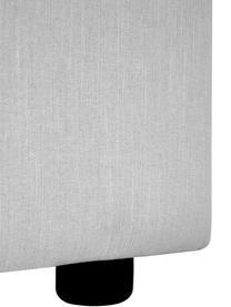 Schlafsofa Tasha in Hellgrau, Bezug: 100% Polyester Der hochwe, Füße: Massives Kiefernholz, Spe, Füße: Kunststoff, Webstoff Grau, B 235 x T 100 cm