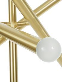 Design Pendelleuchte Sticks, Baldachin: Metall, gebürstet, Vermessingt, Ø 60 cm