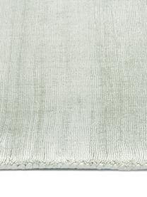 Ręcznie tkany dywan z wiskozy Jane, Zielony, S 160 x D 230 cm (Rozmiar M)