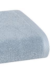 Einfarbiges Handtuch-Set Comfort, 3-tlg., Hellblau, Sondergrößen