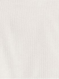 Copertura poltrona Bianca, 100% cotone, Color crema, Larg. 110 x Alt. 110 cm