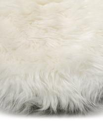 Schaffell Oslo, glatt, Flor: 100% Schaffell, Cremeweiß, 60 x 90 cm