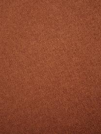 Divano componibile grande in tessuto color terracotta Lennon, Rivestimento: poliestere Il rivestiment, Struttura: legno massiccio d i pino,, Piedini: materiale sintetico I pie, Tessuto color terracotta, Larg. 357 x Prof. 119 cm