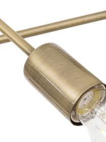 Lampada a sospensione dorata Visby, Baldacchino: metallo ottonato, Ottone, Ø 84