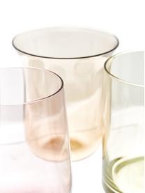 Verre à eau en verre soufflé Desigual, 6élém., Multicolore