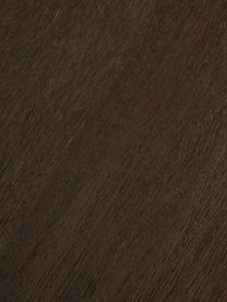 Credenza in  legno massello Harry, Struttura: metallo verniciato a polv, Legno di mango, dorato, Larg. 175 x Alt. 85 cm