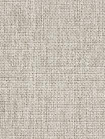 Sofa Emma (3-Sitzer) in Beige mit Metall-Füßen, Bezug: Polyester 100.000 Scheuer, Gestell: Massives Kiefernholz, Füße: Metall, pulverbeschichtet, Webstoff Beige, Füße Schwarz, B 227 x T 100 cm