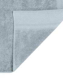 Asciugamano con bordo decorativo Premium, diverse misure, Azzurro, Asciugamano