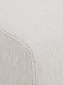 Bank Carrie (2-zits) in beige met metalen poten, Bekleding: polyester, Frame: spaanplaat, hardboard, mu, Poten: gelakt metaal, Geweven stof beige, B 176 x D 86 cm