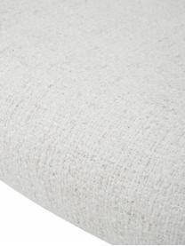 Krzesło tapicerowane bouclé Tess, Tapicerka: 70% poliester, 20% wiskoz, Nogi: metal powlekany, Kremowobiały bouclé, nogi: złoty, S 49 x G 64 cm