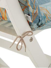 Nakładka na krzesło z oparciem Dotan, Tapicerka: 50% bawełna, 45% polieste, Jasny niebieski, niebieski, pomarańczowy, S 50 x D 123 cm