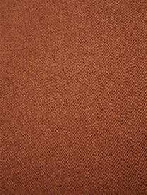 Divano componibile in tessuto color terracotta Lennon, Rivestimento: poliestere Il rivestiment, Struttura: legno massiccio di pino, , Piedini: materiale sintetico I pie, Tessuto color terracotta, Larg. 269 x Prof. 119 cm