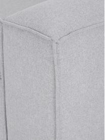 Divano angolare componibile in tessuto grigio chiaro Lennon, Rivestimento: poliestere Il rivestiment, Struttura: legno massiccio d i pino,, Piedini: materiale sintetico I pie, Tessuto grigio chiaro, Larg. 238 x Prof. 180 cm