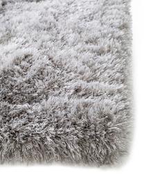 Tappeto a pelo lungo effetto lucido Lea, 50% poliestere, 50% polipropilene, Grigio, Larg. 300  x Lung. 400 cm (taglia XL)