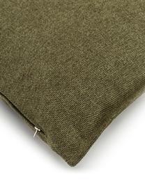 Sofa-Kissen Lennon in Grün, Bezug: 100% Polyester, Webstoff Grün, 60 x 60 cm