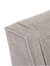 Polsterstuhl Savannah, Bezug: Polyester 49.000 Scheuert, Beine: Massives Buchenholz, lack, Webstoff Beige, Beine Schwarz, B 55 x T 55 cm