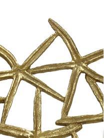 Ciotola decorativa Seastar, Poliresina, Dorato, Larg. 35 x Alt. 36 cm